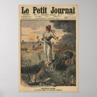 New Year, France hopes for better days Poster