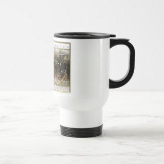 New Year - Golden Elegance - Rottweiler SambaParTi Travel Mug