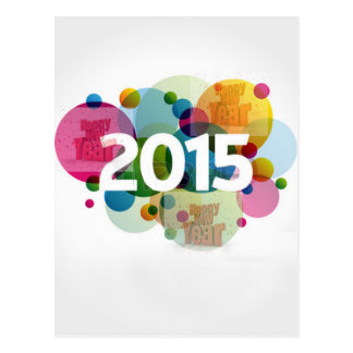 New Year Image 2015 Postcard