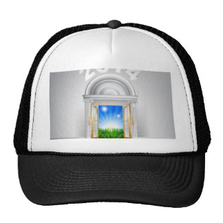 New Year New Dawn Door 2014 Trucker Hat