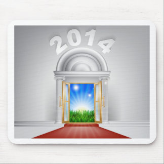 New Year New Dawn Door 2014 Mouse Mats