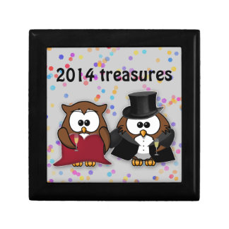 new year owl jewelry boxes