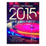 New Year Party Event Announcement DJ CLUB Flyer