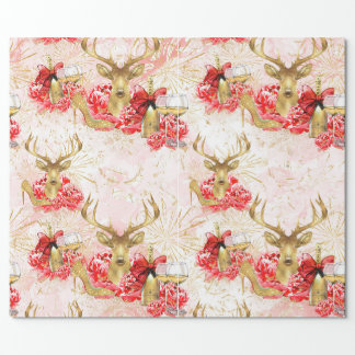 New Year Party Gift wrapping paper. Wrapping Paper
