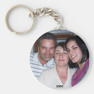 new year pic basic round button key ring