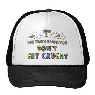 New Year Resolution Hats