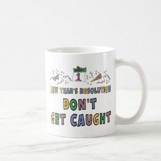New Year Resolution Mugs