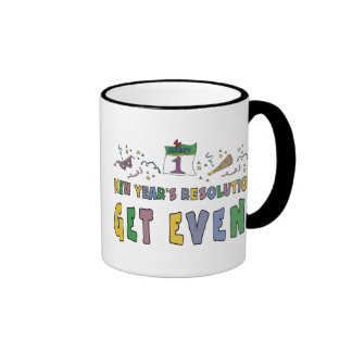 New Year Resolutions Funny Gift Coffee Mugs