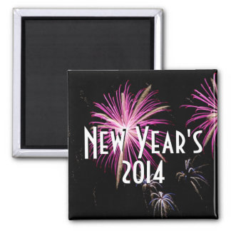 New Year s 2014 Fireworks Magnet