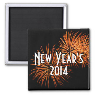 New Year s 2014 Magnet