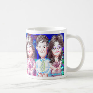 "New Year""s Eve Party Caricatures Mug 2014c"