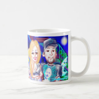 """New Year""""s Eve Party Caricatures Mug 2014d"""