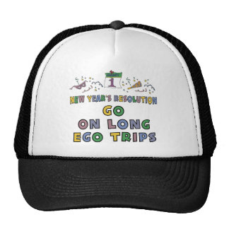 New Year s Resolution Mesh Hats