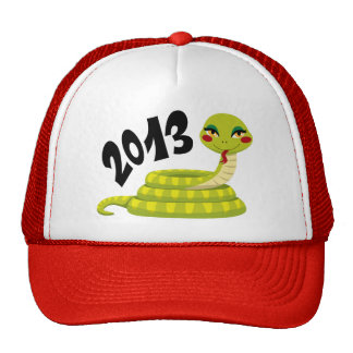New Year Snake Cap