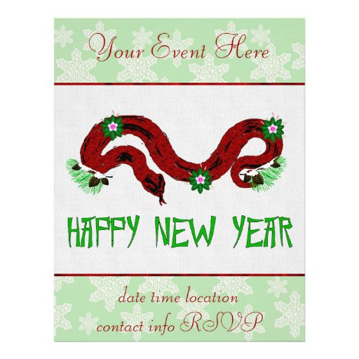New Year Snake Flyers