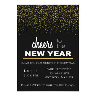 New Year Sparkle Card