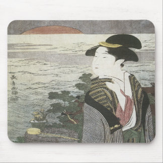 New Year Sunrise, Choki, 1795 Mousepad