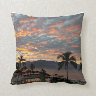 New Year Sunrise in Mexico Cushion