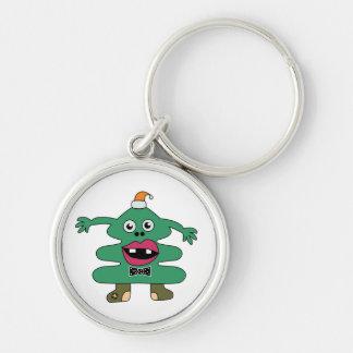 New Year Tree Monster Custom Keychain