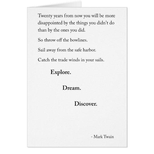 New Year - Twain Card