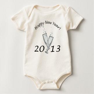 New Years 2013 Baby Bodysuits