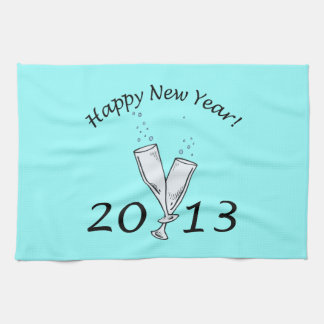 New Years 2013 Towel