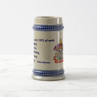 New Year's Any Year Read About Design Below Beer Steins