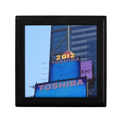 New years Ball at Times Square, NY Small Square Gift Box