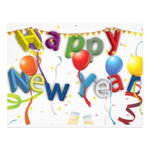 New Years Celebration 3 Flyers
