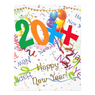 New Years Celebration 4 21.5 Cm X 28 Cm Flyer