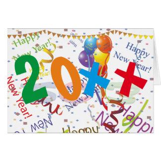 New Years Celebration 4 Card