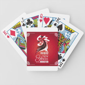 New Years Chinese Style 2017 Poker Deck