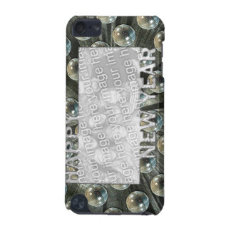 New Years Cut Out Photo Frame - Disco Balls iPod Touch (5th Generation) Covers