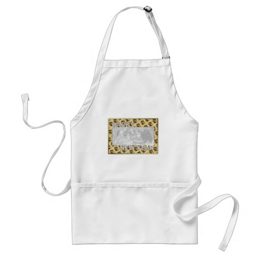 New Years Cut Out Photo Frame - Jan 1st Aprons
