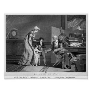 New Year's Day, 1807 Poster