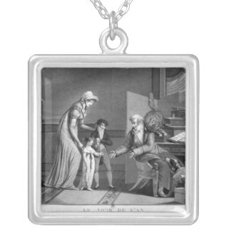 New Year's Day, 1807 Silver Plated Necklace