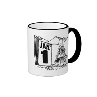 New Year's Day Coffee Mugs