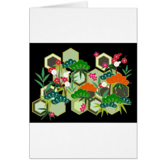 New Year's Day Japan Japanese Style Card