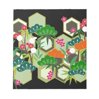 New Year's Day Japan Japanese Style Notepad