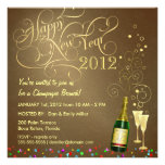 New Year's Day Party - Champagne Brunch Personalized Invitations
