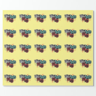 New Years Day Wrapping Paper