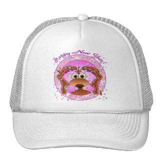 New Years Dog Trucker Hat