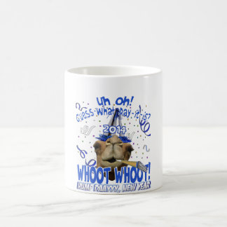New Year's Eve 2014 Hump Day Camel Mugs