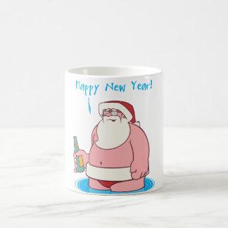 New Years Eve Basic White Mug