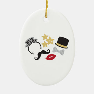 New Years Eve Christmas Ornament