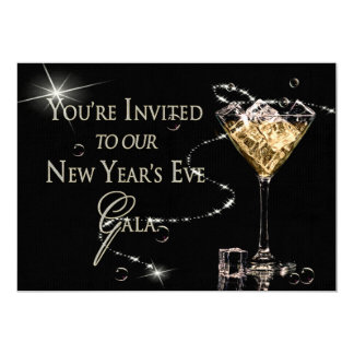 NEW YEAR'S EVE GALA INVITATION - Semi-Formal - Ice