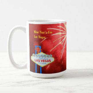 New Year's Eve in Las Vegas Basic White Mug