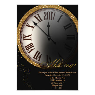 New Year's Eve Invitation, New Year's Eve Card