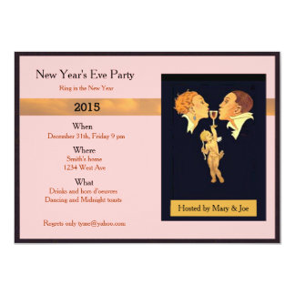 New Years Eve party 11 Cm X 16 Cm Invitation Card