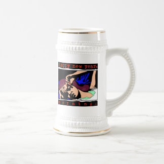 New Year's Eve Party Beer Steins
